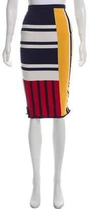 Tommy Hilfiger Gigi x Knee-Length Patchwork Skirt