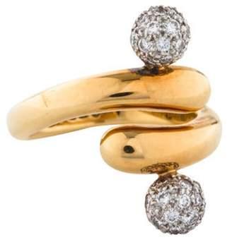 Tiffany & Co. Diamond Ball Ring yellow Diamond Ball Ring