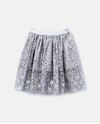 Stella McCartney Silver Stars Skirt