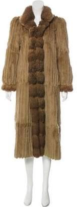 Hermes Fur-Lined Reversible Coat