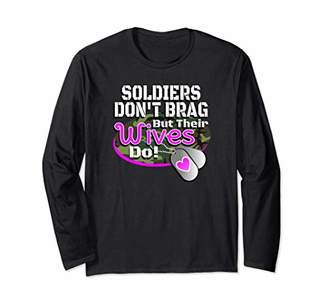 Army Wife Shirt For Women Soldier Military Family Gift