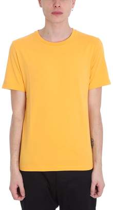 Maison Margiela Yellow Cotton And Nylon T-shirt