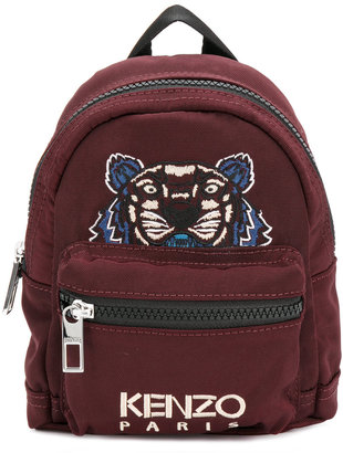 Kenzo Mini Tiger Canvas backpack $185 thestylecure.com