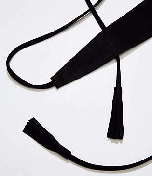 LOFT Tassel Belt