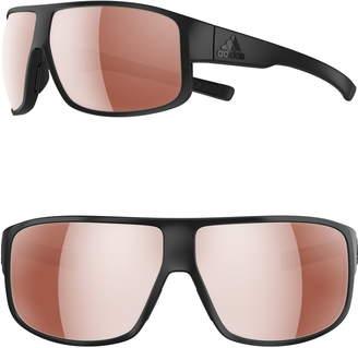 adidas Horizor 67mm Wraparound Sport Sunglasses