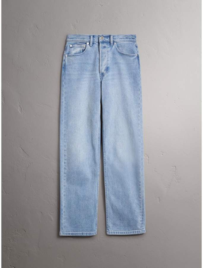 Burberry Straight Fit Stonewashed Jeans