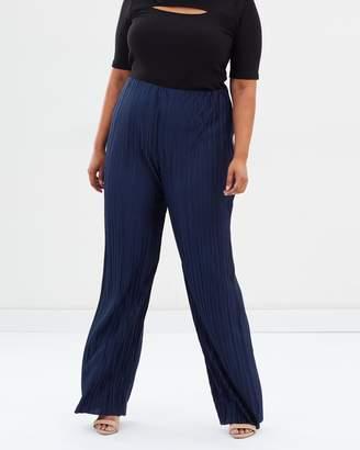 Wide Pleat Trousers