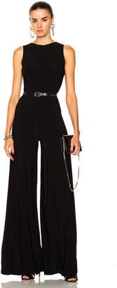 Norma Kamali Sleeveless Low Back Elephant Jumpsuit $180 thestylecure.com