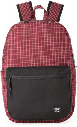 Herschel Wine Grid Harrison Laptop Backpack
