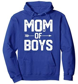 The Mom of Boys Hoodie BIRTHDAY Gift Mommy Mama