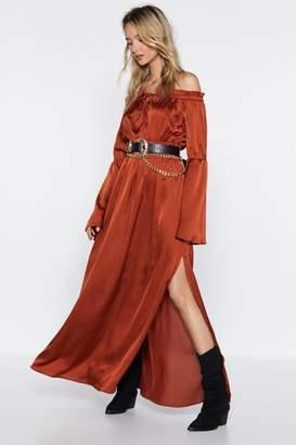 Nasty Gal Sleek Out Maxi Dress