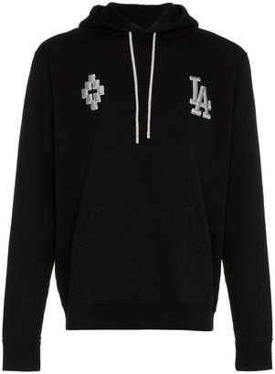 Marcelo Burlon County of Milan LA dodgers cotton hoodie