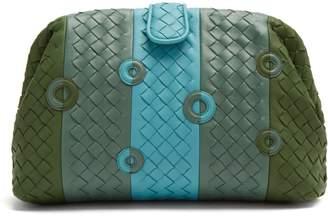 Bottega Veneta The Lauren 1980 intrecciato-leather clutch