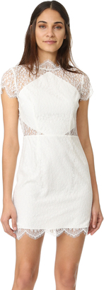 Keepsake Daydream Lace Mini Dress $260 thestylecure.com