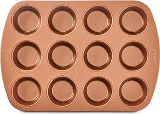 Crux Nonstick Copper 12-Cup Muffin Pan