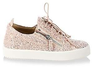 Giuseppe Zanotti Women's May London Leather Fashion Sneakers