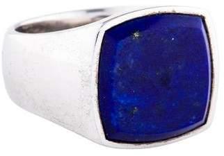 Lapis Tom Wood Lazuli Signet Ring