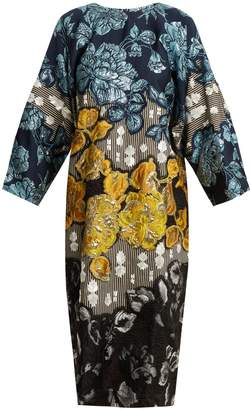 DAY Birger et Mikkelsen BIYAN Floral-brocade embellished dress