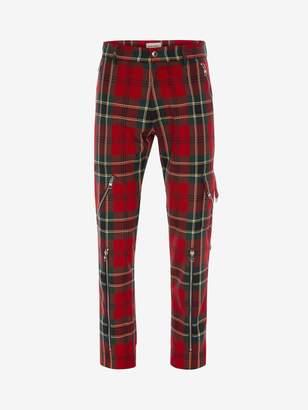 Alexander McQueen Tartan Punk Pants