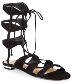 Schutz Erlina Suede Gladiator Sandals