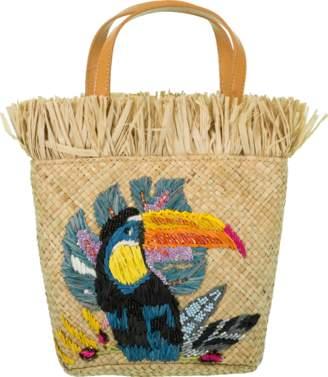 To&co. ARANAZ HANDBAGS Toco Mini Tucan Handle Basket