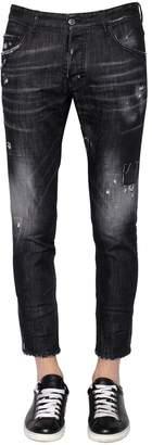 DSQUARED2 16cm Skater Stretch Denim Jeans