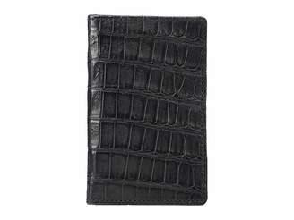 Lucchese Croco Bifold Wallet