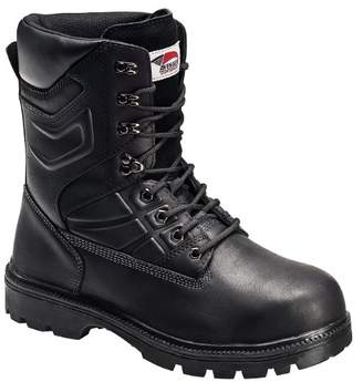 "Avenger Safety Footwear Avenger 7310 10"" Leather Safety Toe EH Internal Met Guard High Heat Outsole Work Boot"