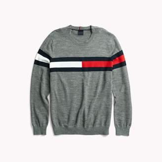 Tommy Hilfiger Flag Crewneck Sweater