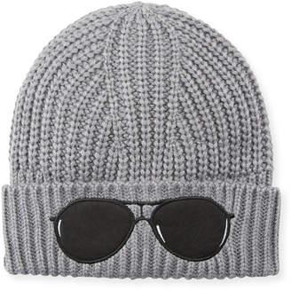Karl Lagerfeld Acrylic Sunglasses Beanie