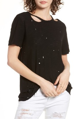 Women's Michelle By Comune Cutout Tee $36 thestylecure.com