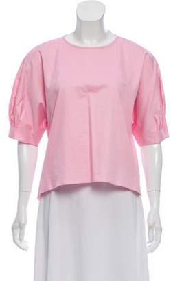 Tibi Oversize Short Sleeve Top