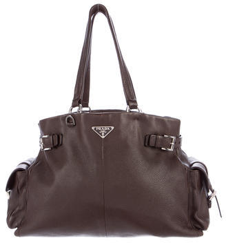 prada Prada Vitello Daino Shoulder Bag