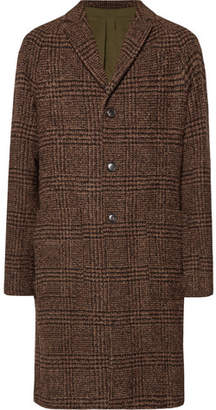 Todd Snyder Checked Bouclé Overcoat