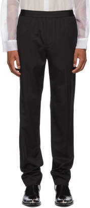 Helmut Lang Black Fine Wool Trousers