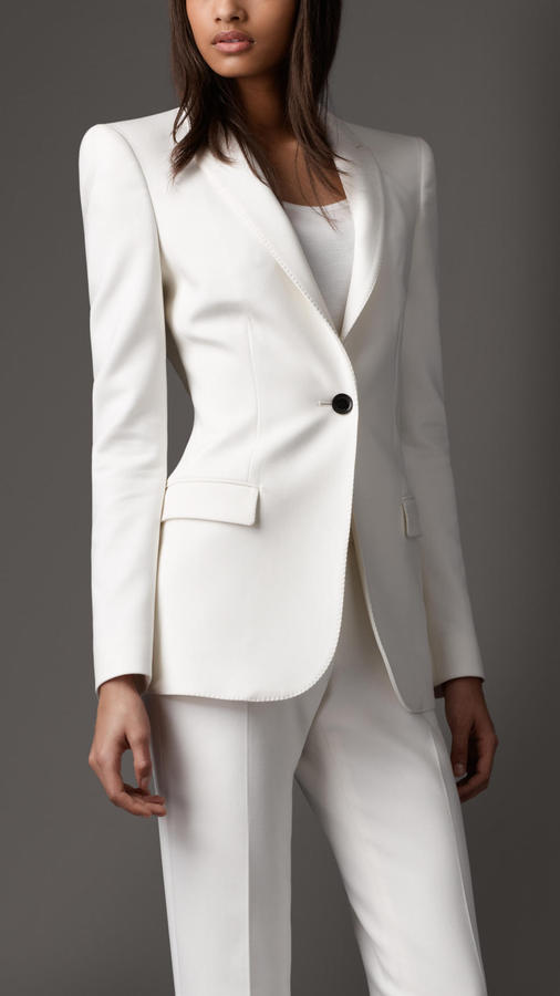 Burberry Minimal Tailored Jacket