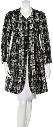 Paul Smith Knee-Length Tweed Coat $245 thestylecure.com