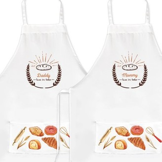 Monogram Online Custom Loves to Bake Adult Apron
