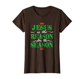 Christian Christmas T Shirt-Jesus Is The Reason