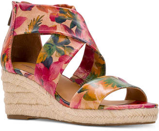 Patricia Nash Rubia Wedge Sandals Women Shoes