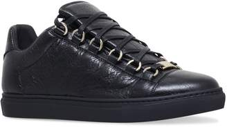 Balenciaga Leather Arena Low-Top Sneakers