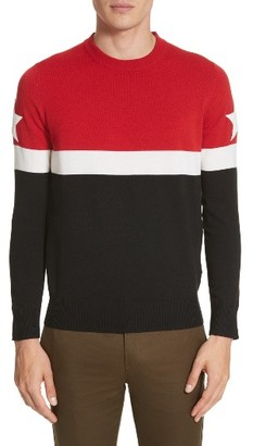 Men's Givenchy Stripe Wool Blend Pullover $745 thestylecure.com