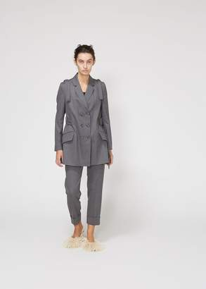 Simone Rocha Shoulder Bow Straight Blazer