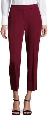 Milly Women's Cropped Wide-Leg Pants