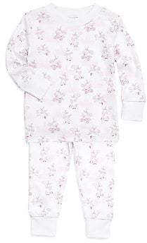 Kissy Kissy Baby's Girl's& Little Girl's Unicorn Pajama Two-Piece Set