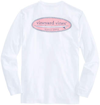 Vineyard Vines Long-Sleeve Surf Logo T-Shirt