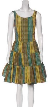 RED Valentino Sleeveless A-Line Dress