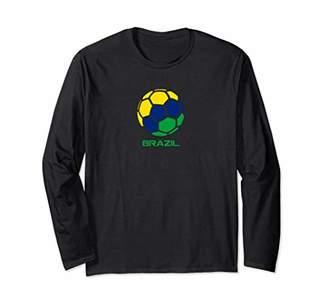 T-Shirt Brazil Soccer Team Brazilian Country Pride Football
