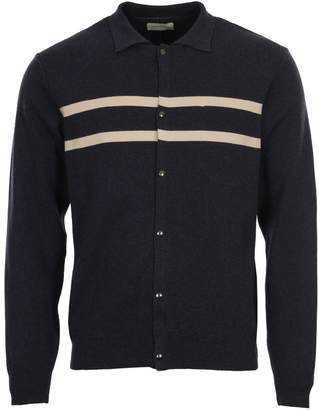 Oliver Spencer Roxwell Knitted Jacket - Navy