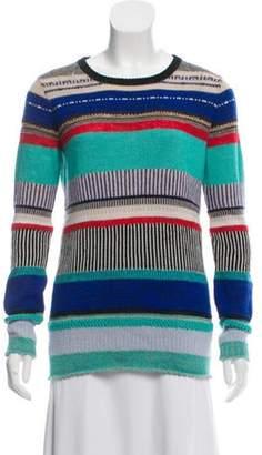 Tess Giberson Alpaca Knit Sweater w/ Tags Green Alpaca Knit Sweater w/ Tags